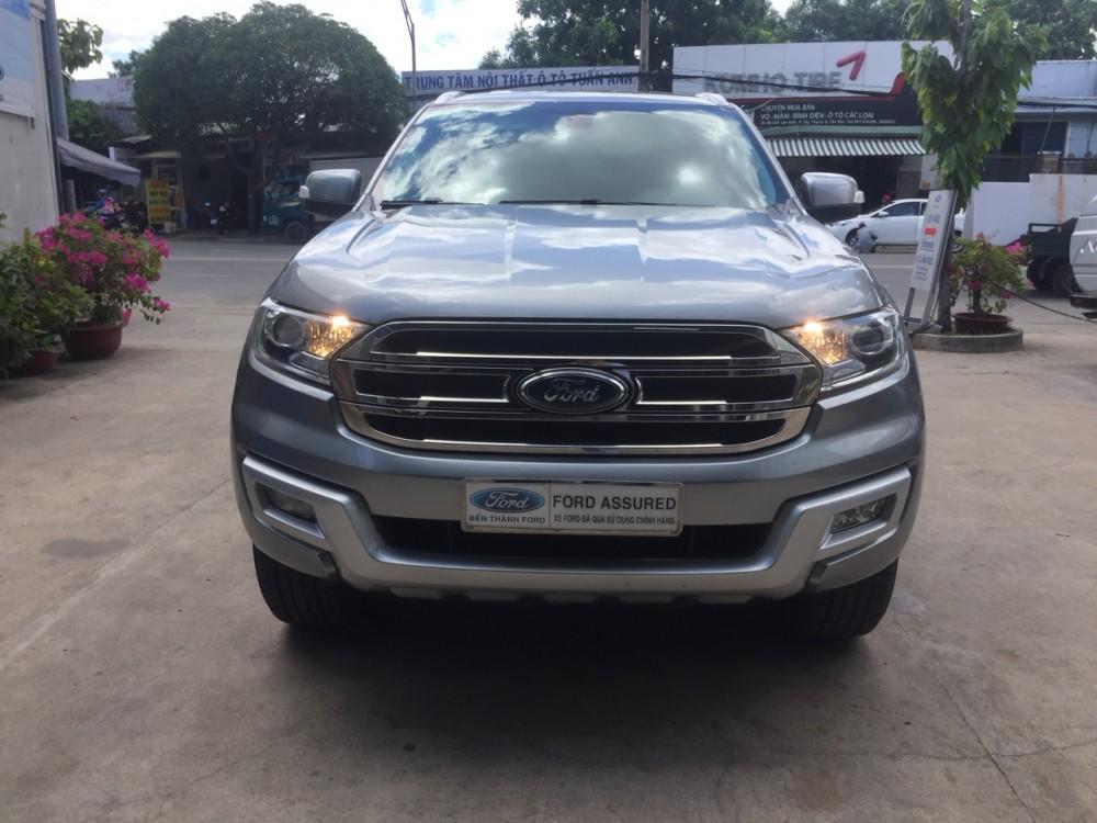 Ford everest 22l - tự động - 2016 nhập thái lan - 1