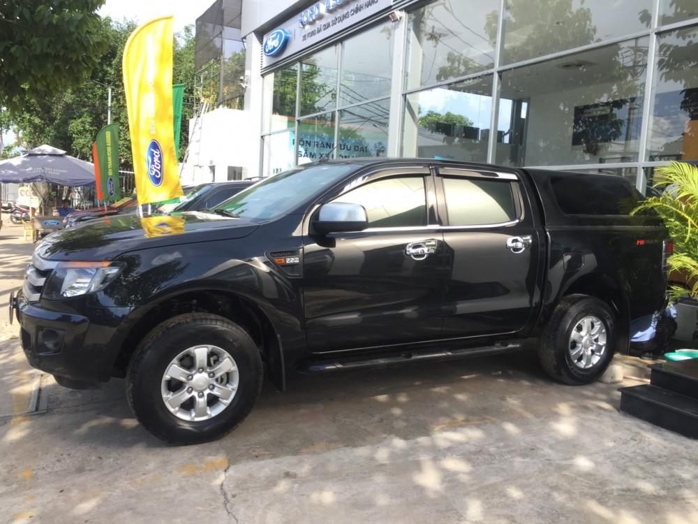 Ford ranger 22 xls mt- 2014 màu đen - 2