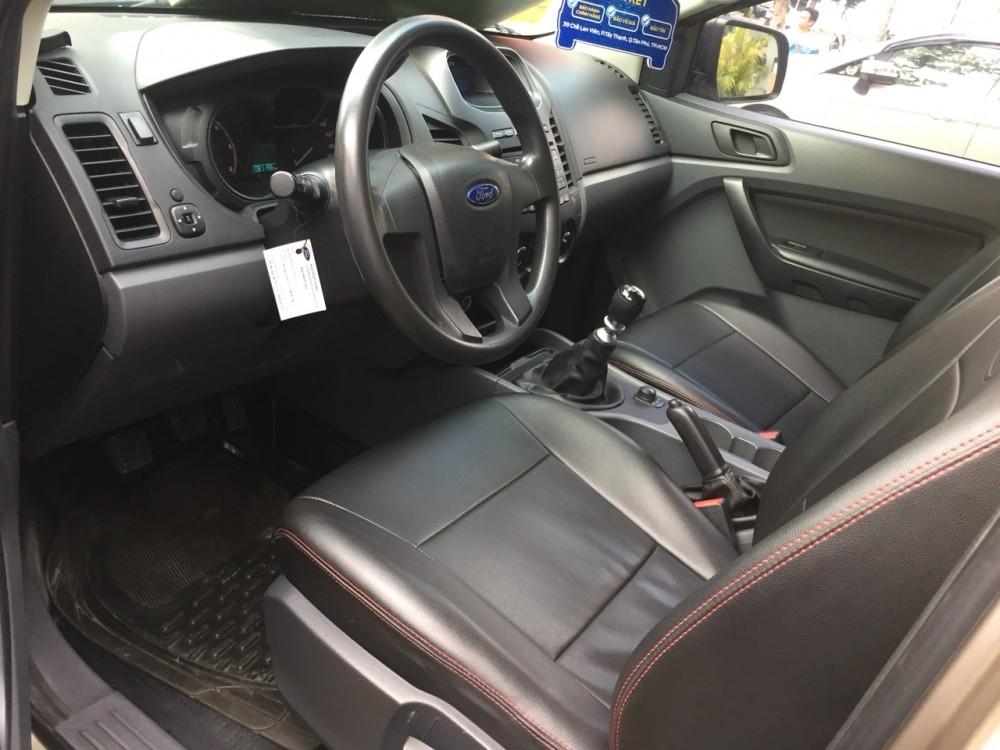 Ford ranger 22 xls mt- 2014 màu đen - 5