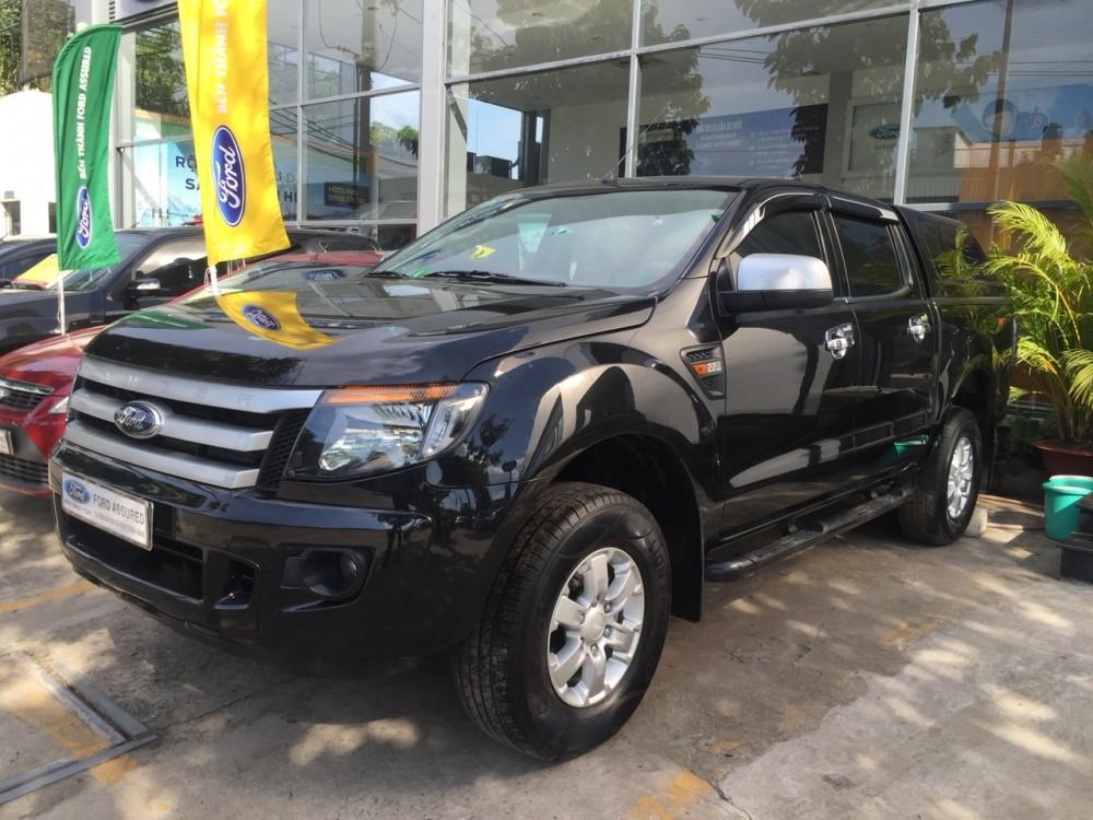 Ford ranger 22 xls mt- 2014 màu đen - 1