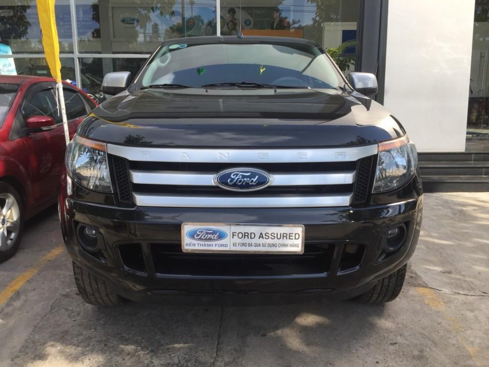 Ford ranger 22 xls mt- 2014 màu đen - 3