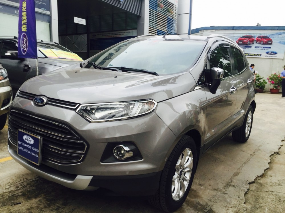 Ford ecosport 15titanium - ghi xám - 2014 - 1