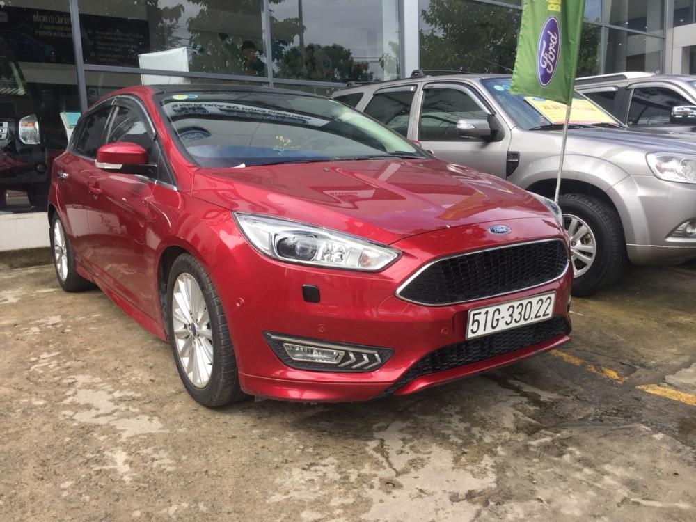 Ford focus 15s - đăng ký 12017 - màu đỏ - 2