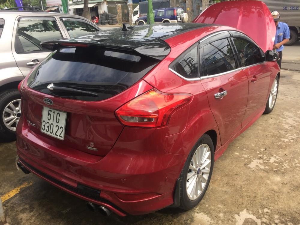 Ford focus 15s - đăng ký 12017 - màu đỏ - 4