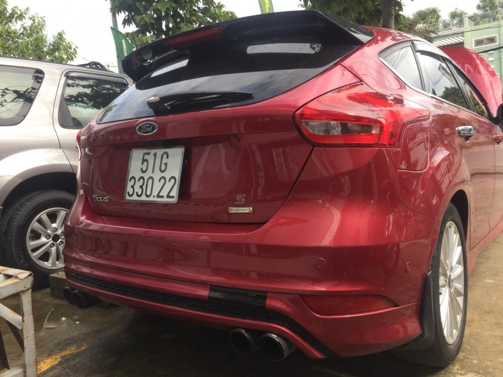 Ford focus 15s - đăng ký 12017 - màu đỏ - 5