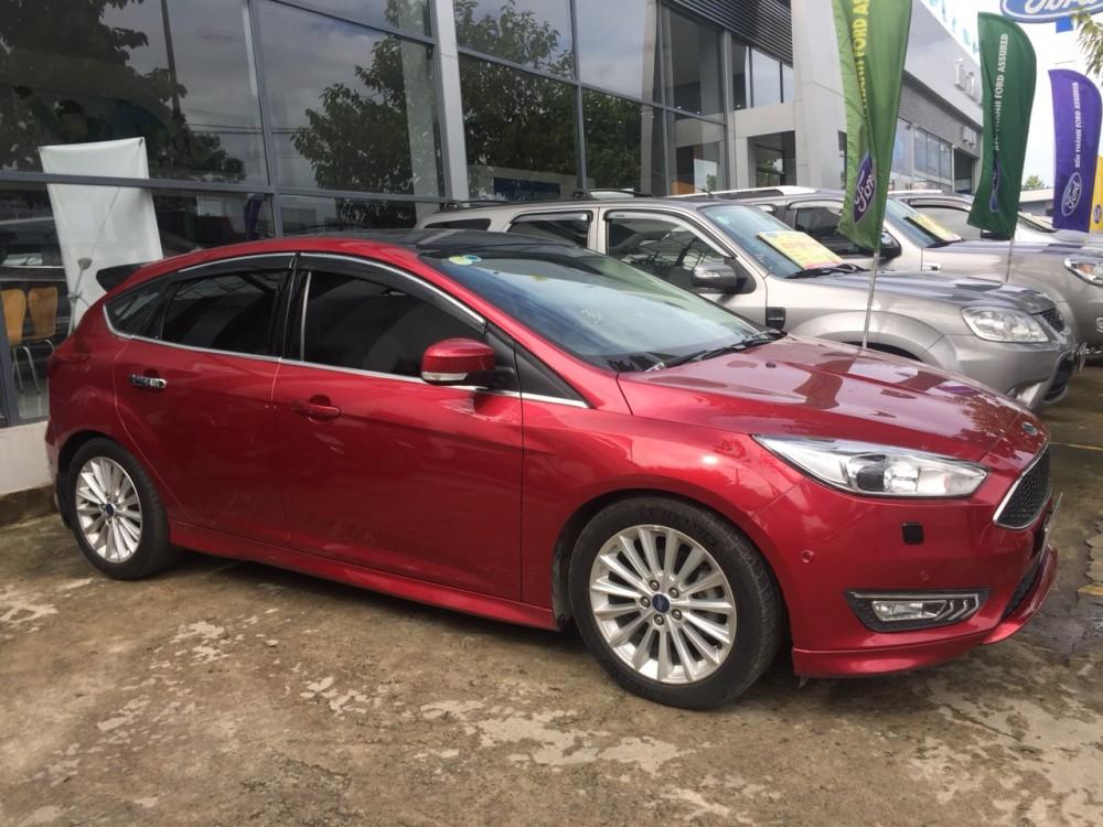 Ford focus 15s - đăng ký 12017 - màu đỏ - 3