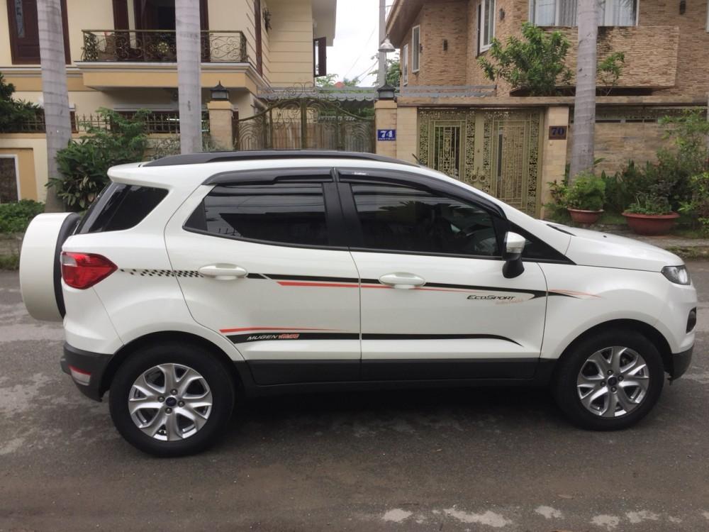 Ford ecosport 15l - số tự động dk 22016 - màu trắng - 2