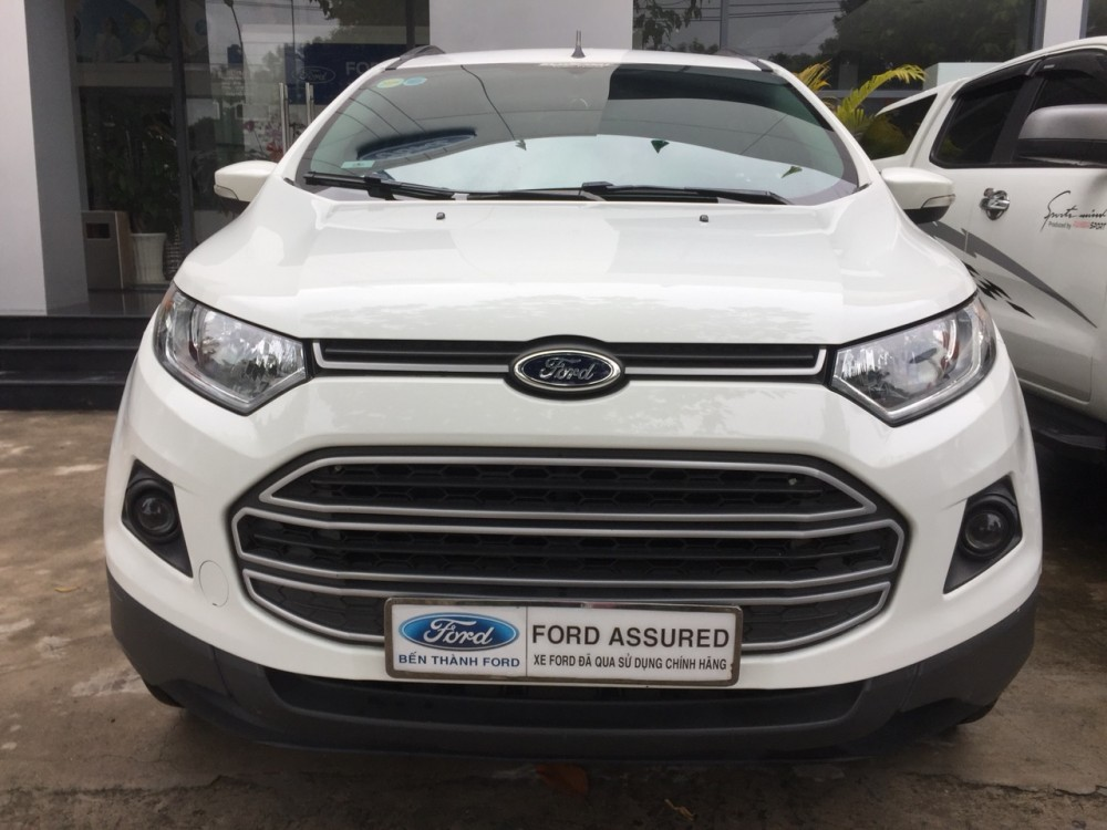 Ford ecosport 15l - số tự động dk 22016 - màu trắng - 8