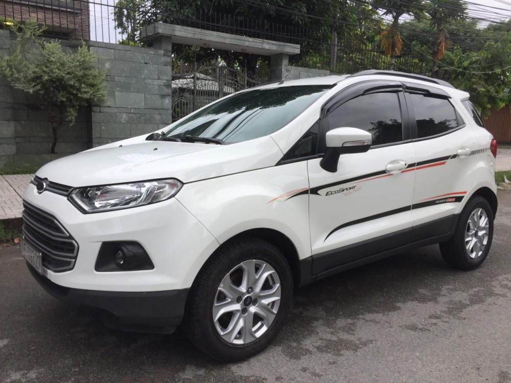 Ford ecosport 15l - số tự động dk 22016 - màu trắng - 1