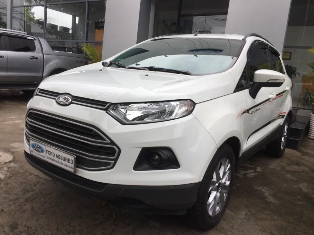 Ford ecosport 15l - số tự động dk 22016 - màu trắng - 9