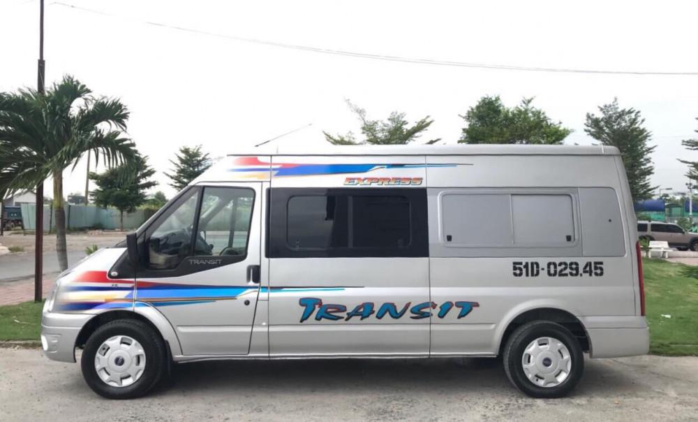 Ford transit cải tạo 6 chổ chở hàng - 2015 - 3