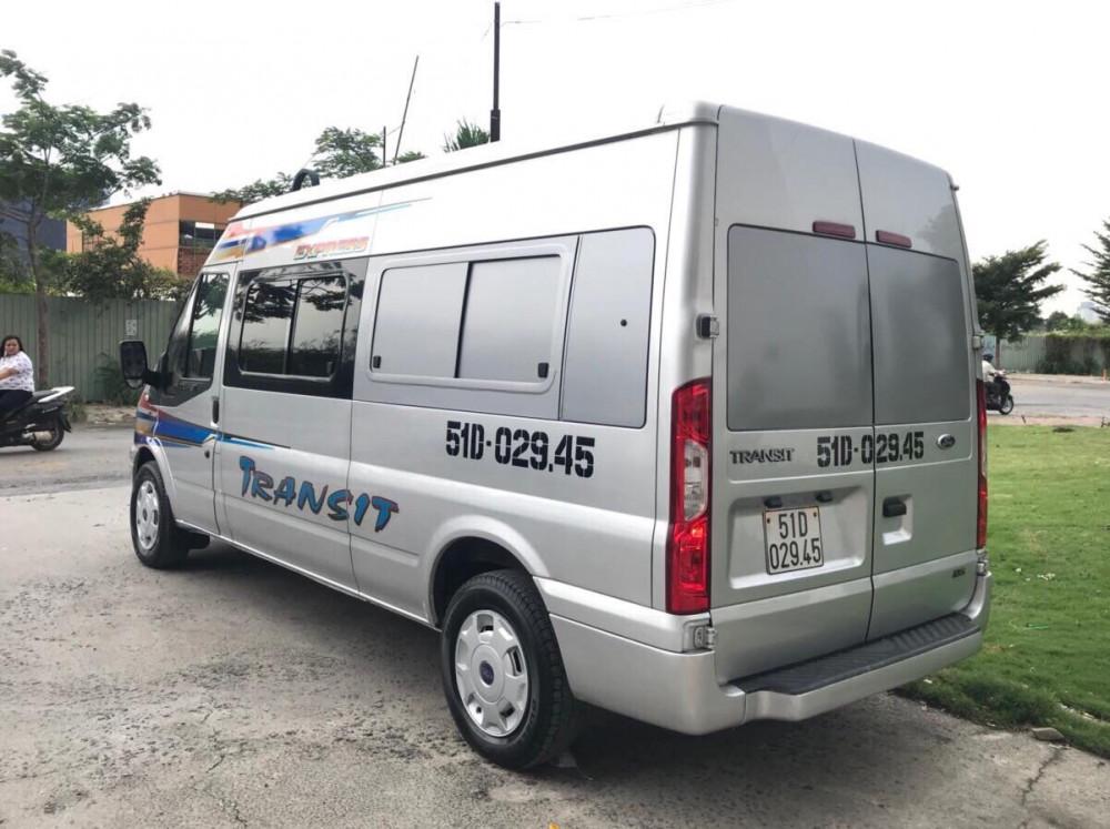 Ford transit cải tạo 6 chổ chở hàng - 2015 - 4