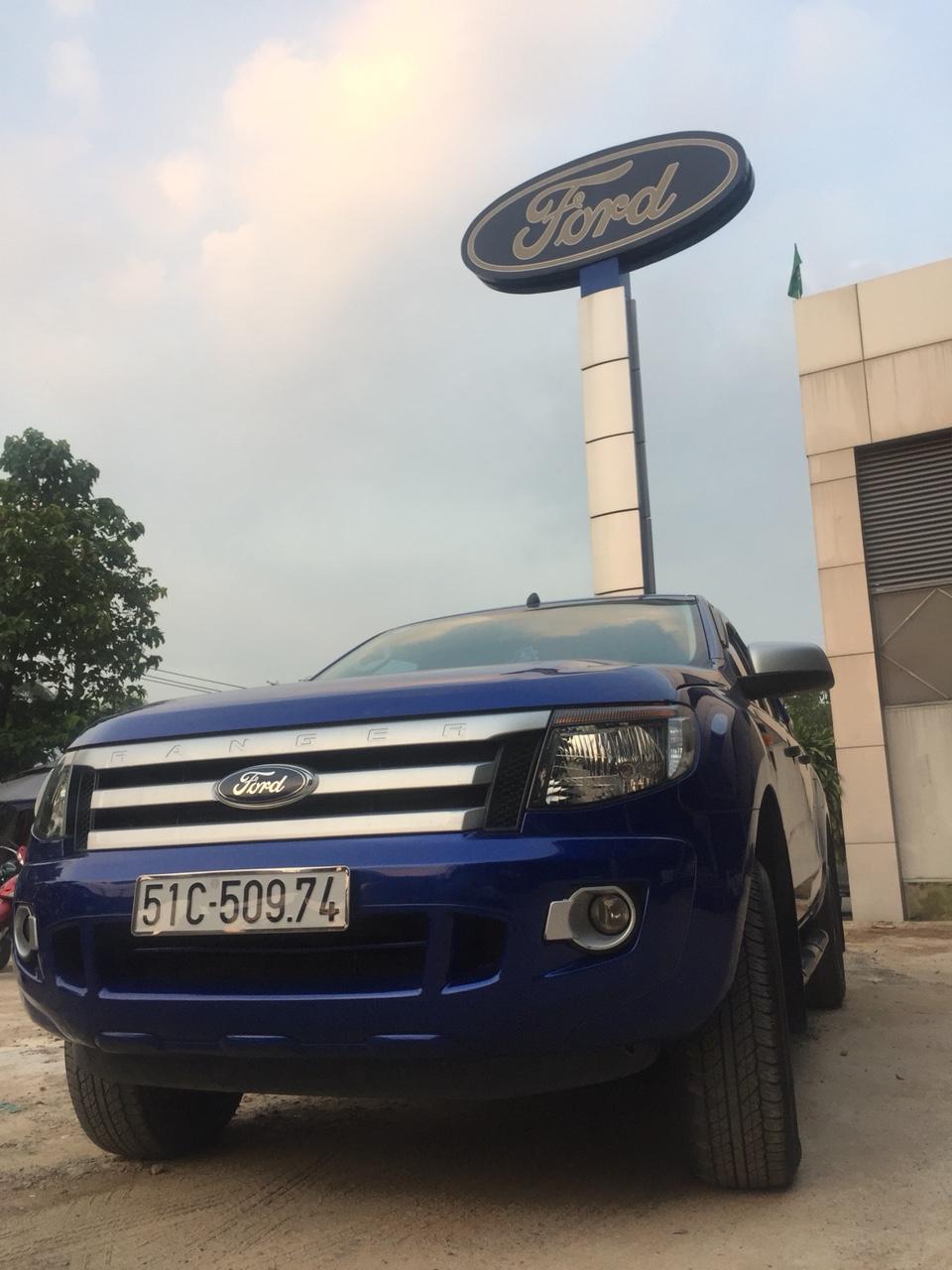 Ford ranger xls at - 122014 màu đặc biệt - 1