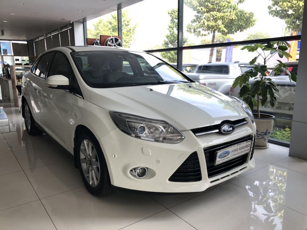 Ford focus 20 titanium đời 2015 màu trắng - 2