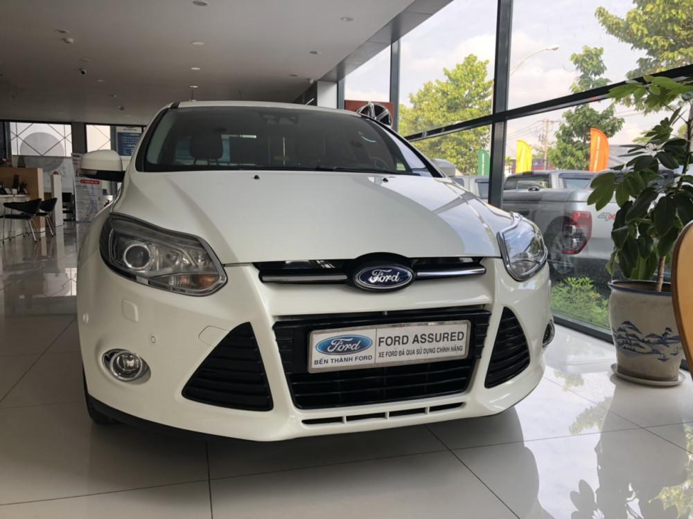 Ford focus 20 titanium đời 2015 màu trắng - 3