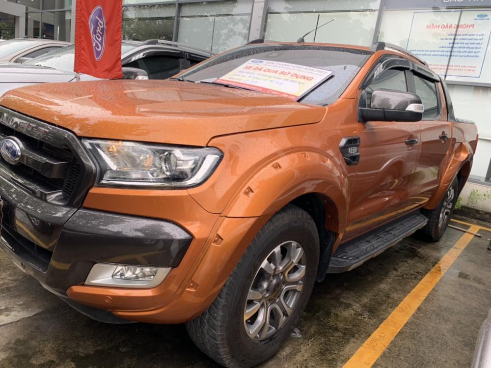 Bán xe ford ranger 32l màu cam đời 2015 cũ - 1