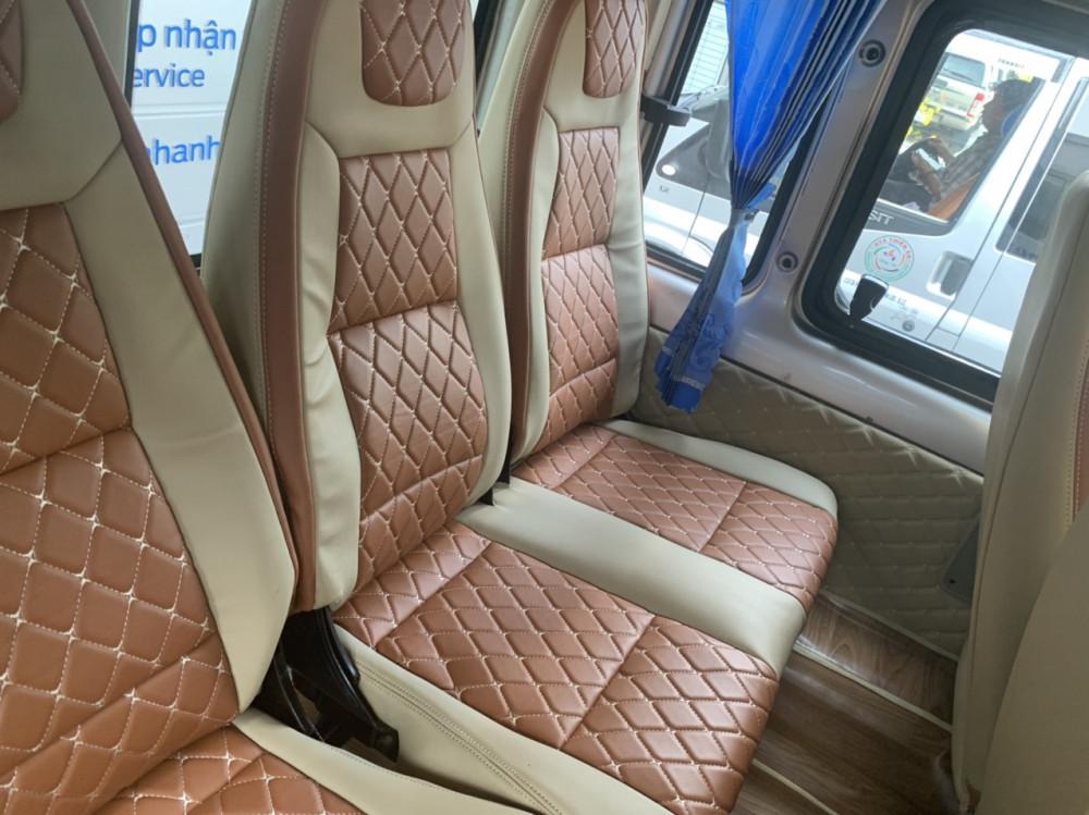 Ford transit limited 2014 - màu ghi vàng - 8