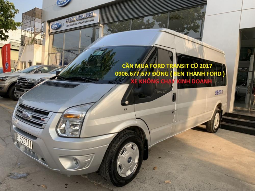 Ford transit cũ 2017 chạy ít không kinh doanh - 1