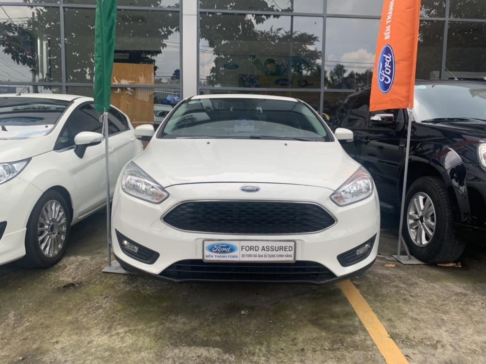 Ford focus 15l trend - 2017 - màu trắng - chạy lướt - 1