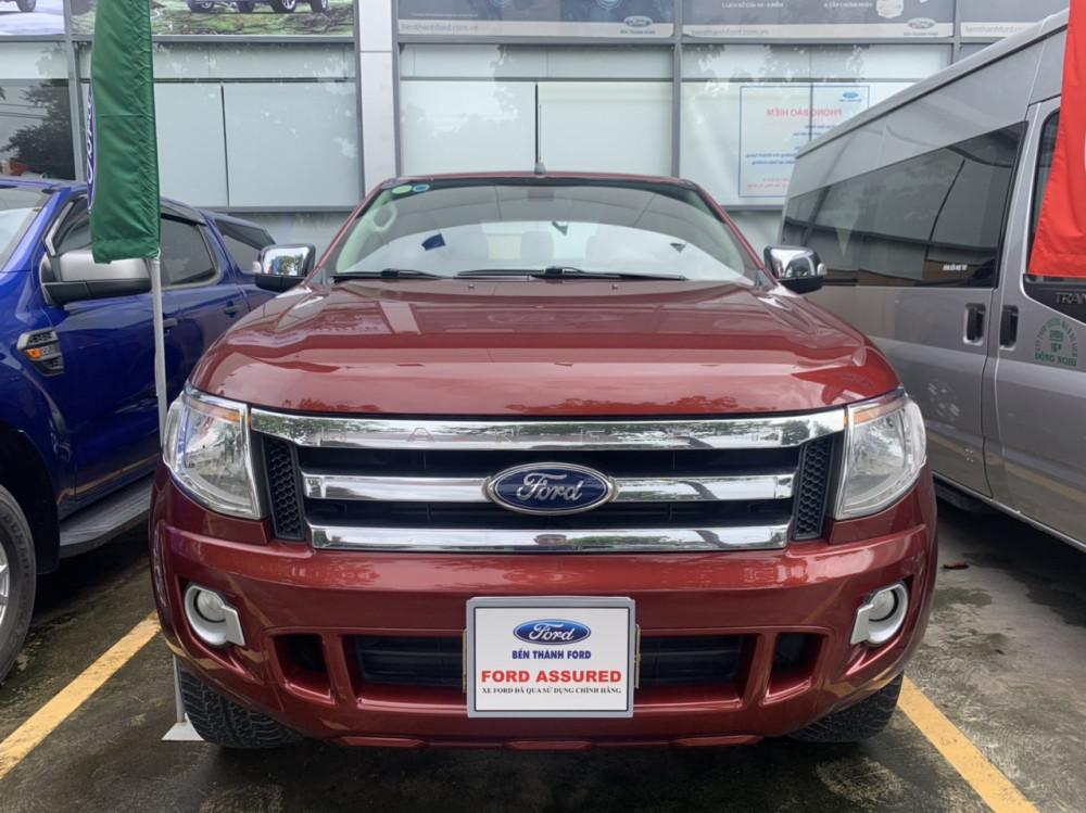 Ford ranger 22xlt- đời 2013 số sàn 2 cầu màu đỏ - 4