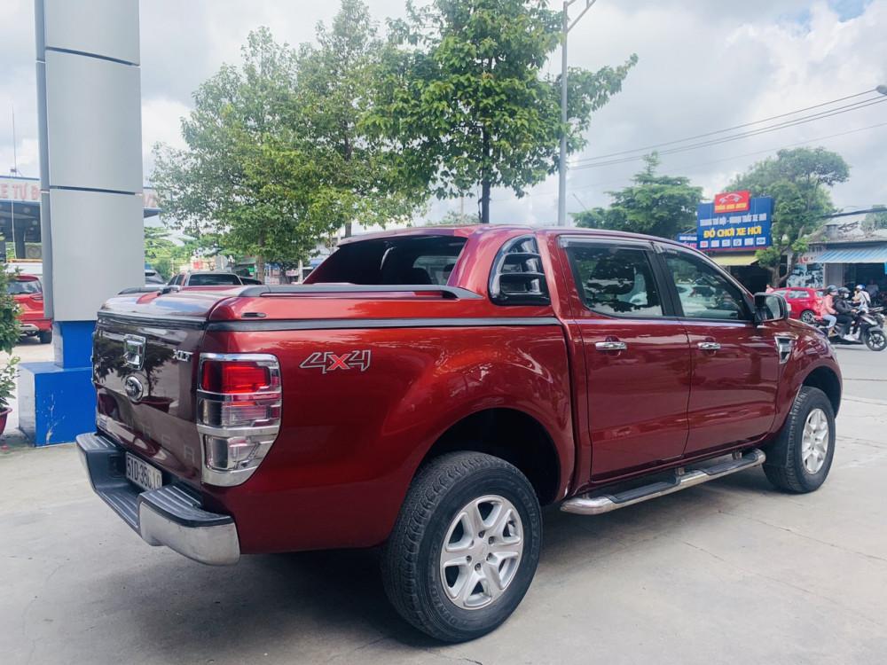Ford ranger 22xlt- đời 2013 số sàn 2 cầu màu đỏ - 3