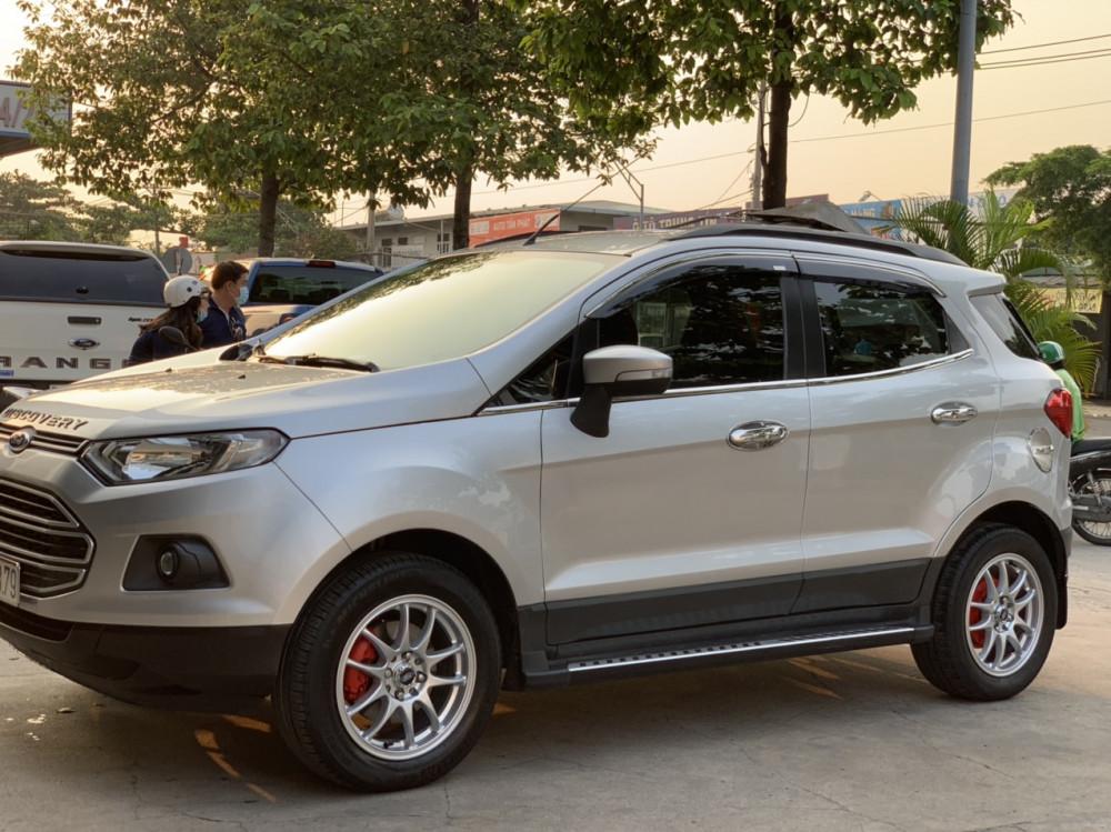 Bán xe ford ecosport 15 số sàn sản xuất 2016 màu bạc - 1