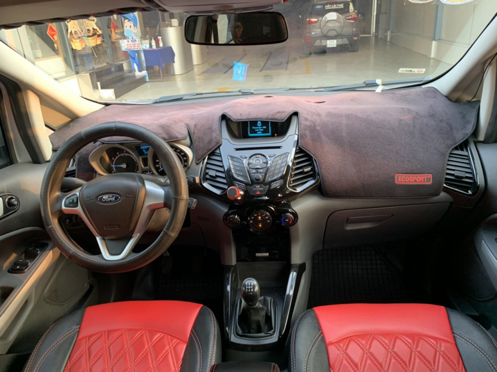Bán xe ford ecosport 15 số sàn sản xuất 2016 màu bạc - 4