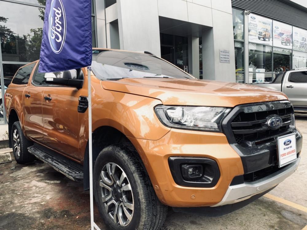 Ford ranger 20 wildtrack cũ đời 2018 - màu cam - 1 chủ sử dụng - 2