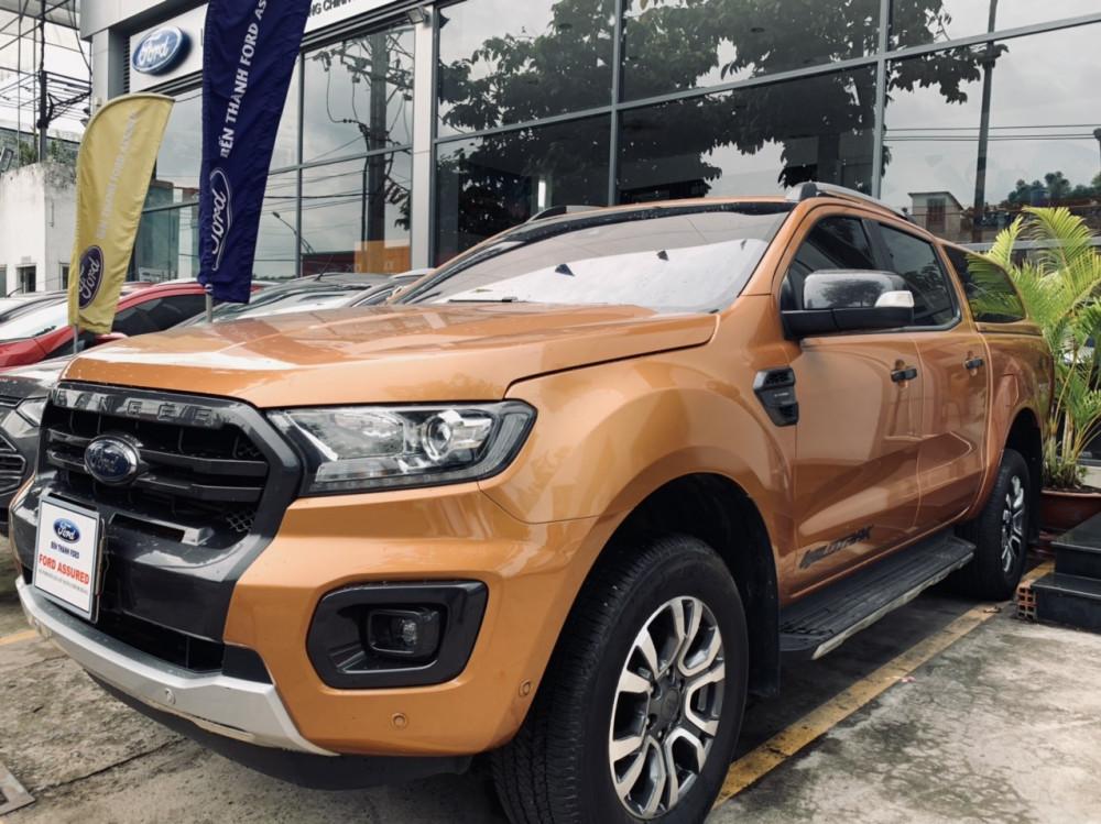 Ford ranger 20 wildtrack cũ đời 2018 - màu cam - 1 chủ sử dụng - 4