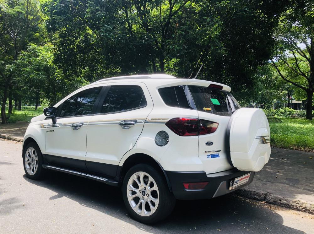 Ford ecosport titanium 2019 - màu trắng - chạy lướt - 6