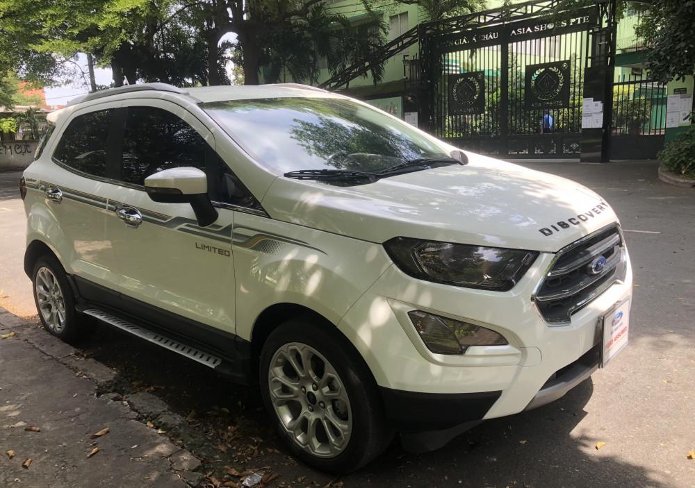 Ford ecosport titanium 2019 - màu trắng - chạy lướt - 2