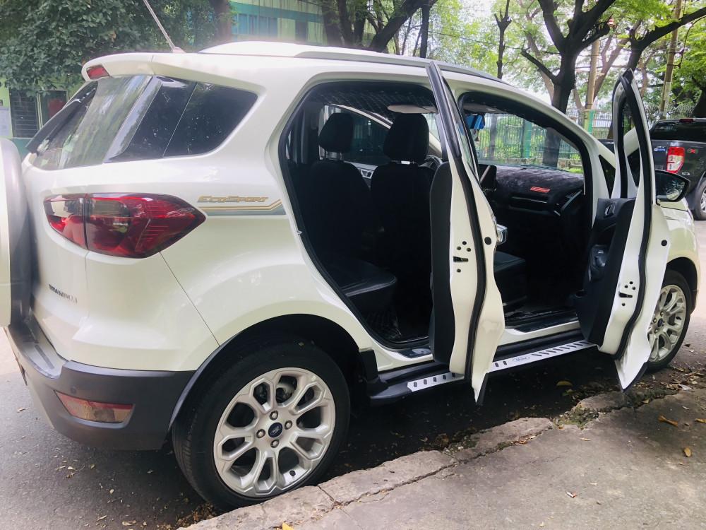 Ford ecosport titanium 2019 - màu trắng - chạy lướt - 8