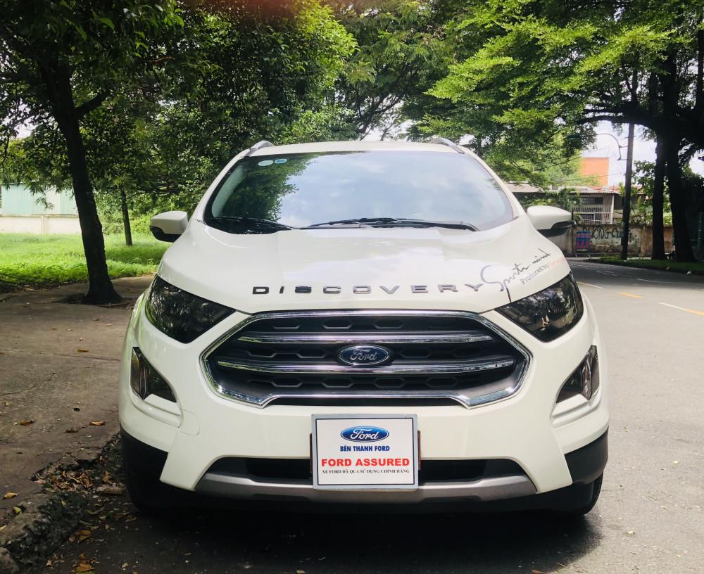 Ford ecosport titanium 2019 - màu trắng - chạy lướt - 7